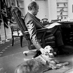 Gerald Ford: Liberty the Golden Retriever